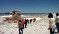 caminata por las salinas provincia de la pampa