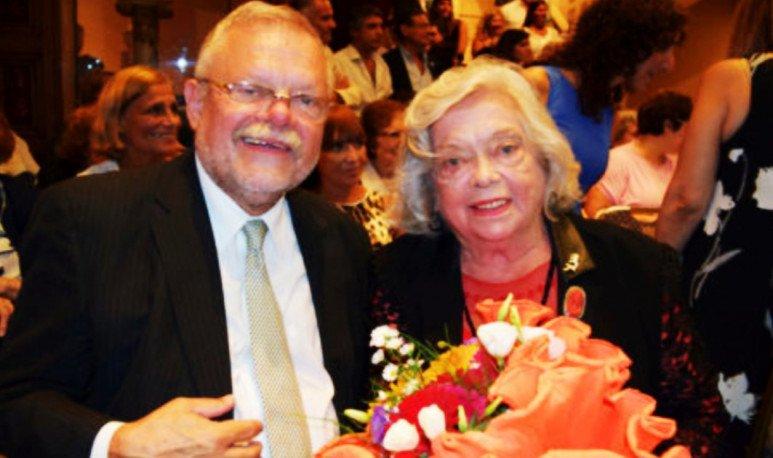Perla Gallardo y Carlos Garavelli