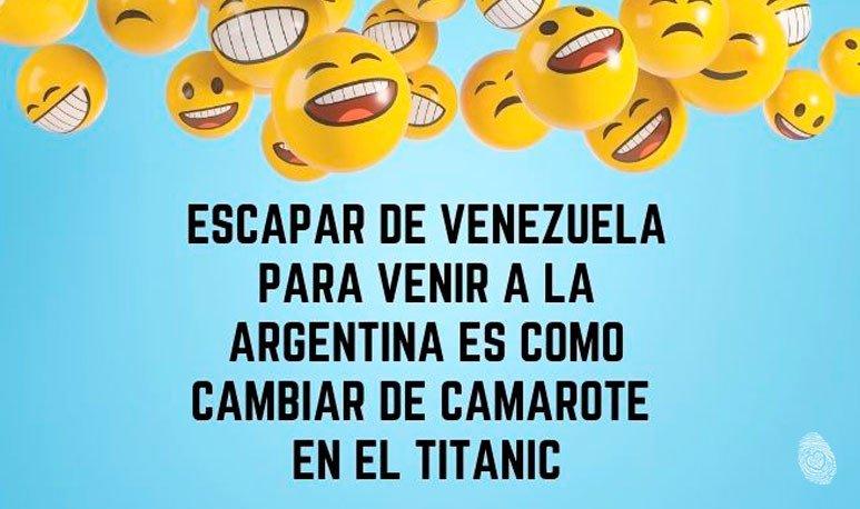 Escapar de Venezuela