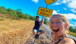 Dos Casildenses Yirando Por Australia