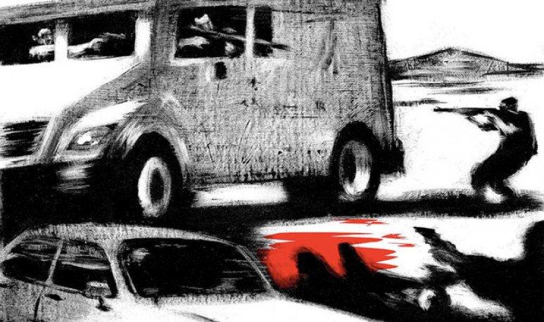 El día que el horror invadió las calles de Rawson