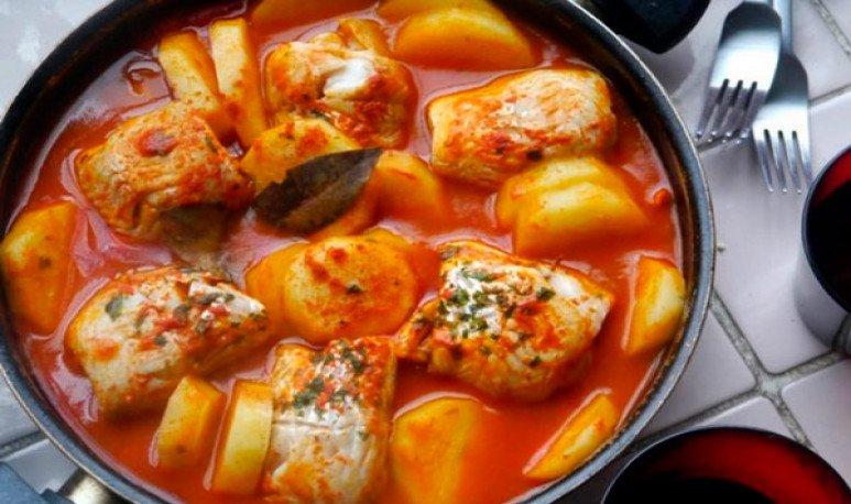 receta Chupín de pescado