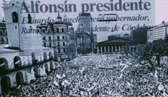 democracia argentina