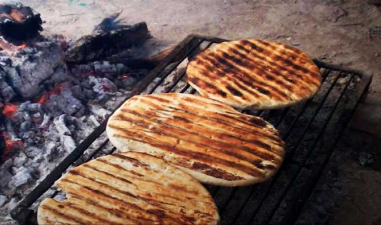 tortillas asadas