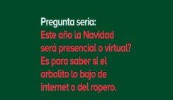 Navidad presencial o virtual