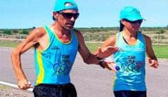 mendocino corrió 168 kilómetros