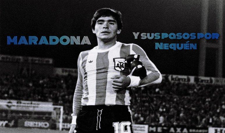 Maradona en Neuquén