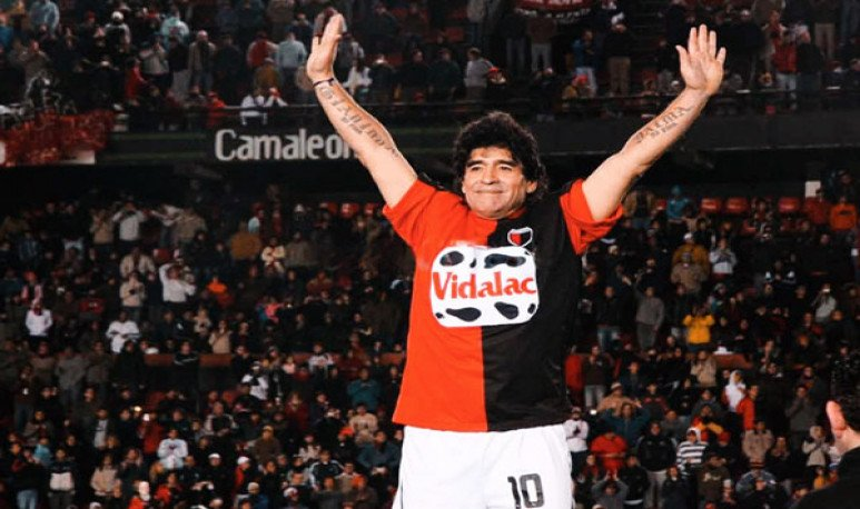 Maradona en Colón