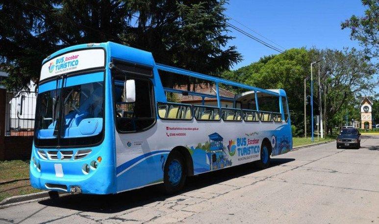 bus turístico escobar
