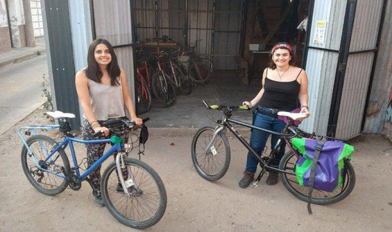 travesías en bicicletas