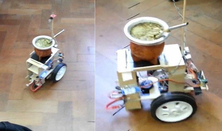 robot sirve mate
