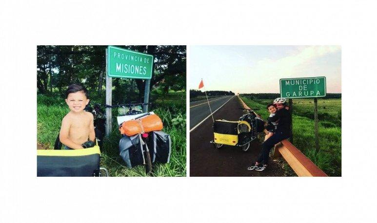 viaje en bici