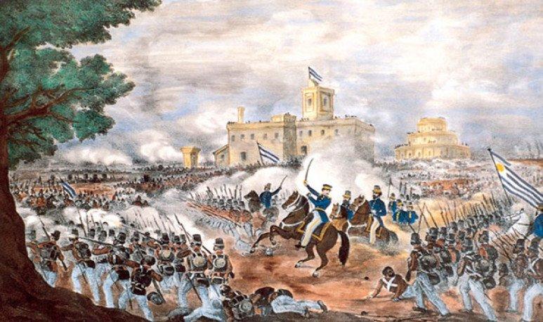 La Batalla de Caseros