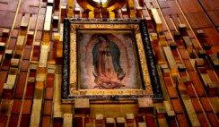 coronamiento de la Virgen de Guadalupe
