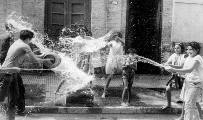 festejos de carnaval en 1921