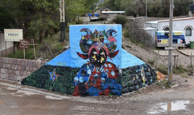 mural en humahuaca