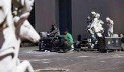 Conocé el lugar donde se restauran los monumentos y estatuas de la Ciudad de Buenos Aires.