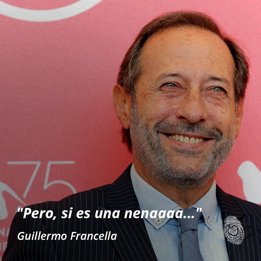 """08. """"Pero si es una nena"""" - Guillermo-Francella - Frases y Populares Argentina"""