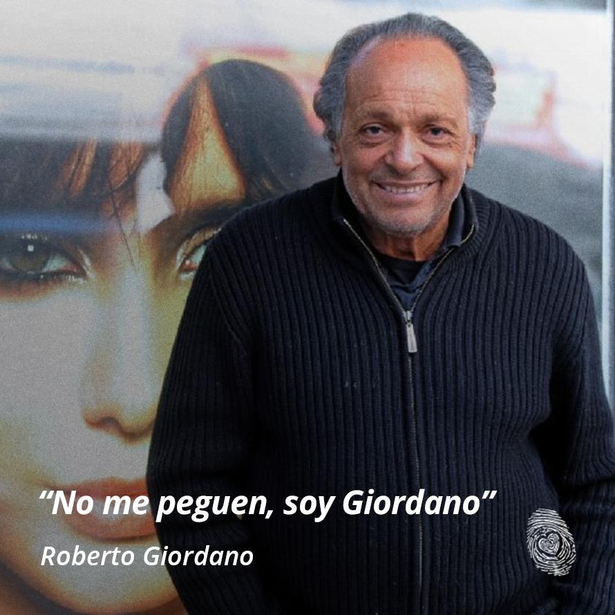 "09. ""No me peguen, soy Giordano - Roberto-Giordano - Frases y Populares Argentina"